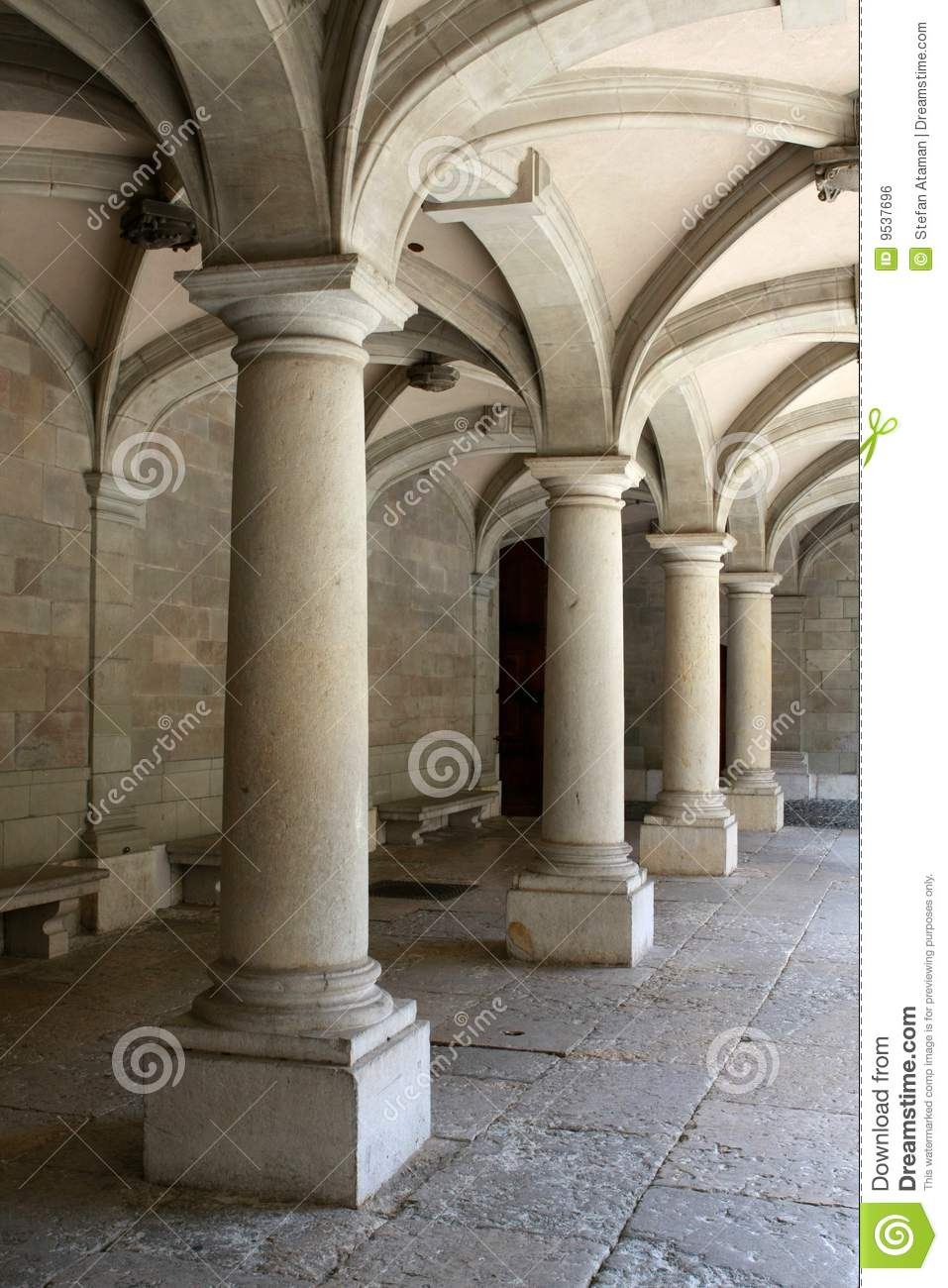 Columns And Arches Royalty Free Stock Image Image 9537696