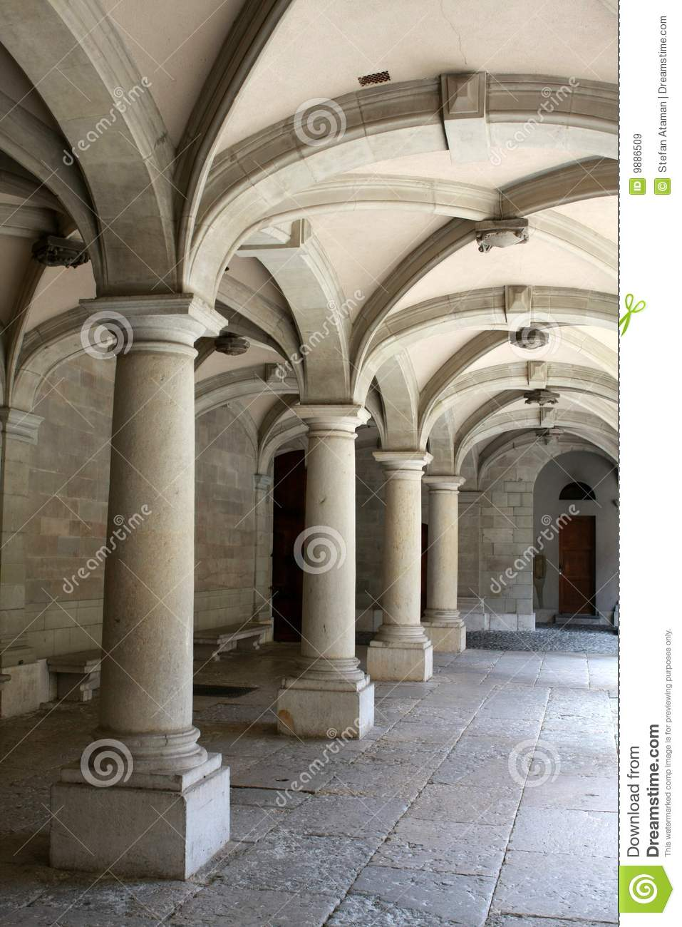 Columns And Arches Stock Image Image Of Vault Medieval