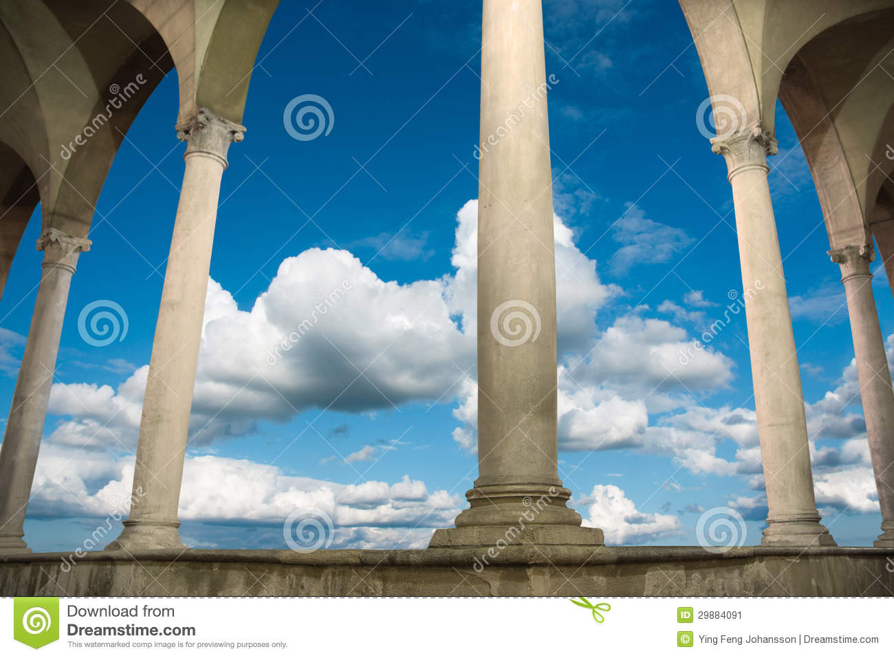 Ancient Roman Building Stock Image Image 29884091
