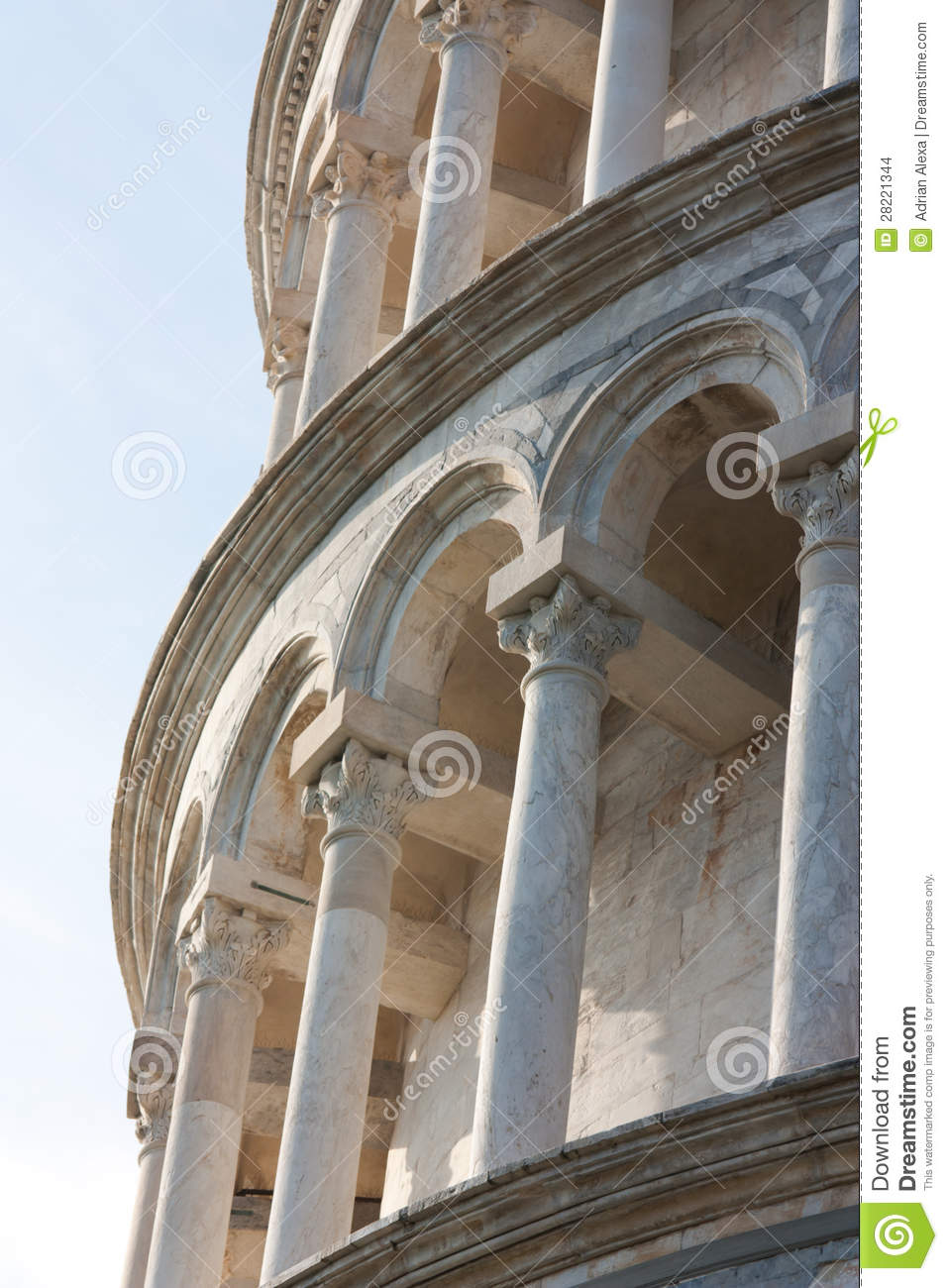 Columns details of leaning tower of pisa italy stock images image 28221344 - Lego architecture tour de pise ...