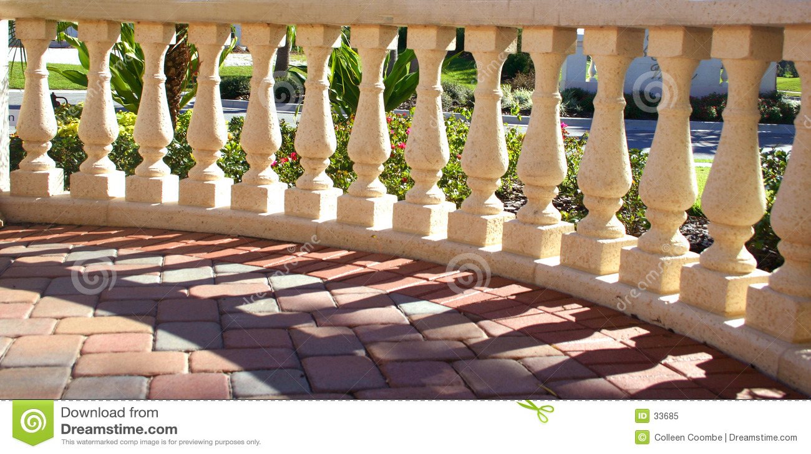 Columns in Sunshine & Shadows