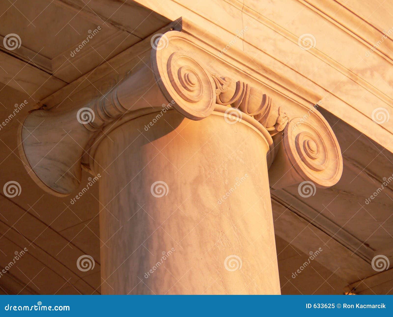 Coluna do memorial de Jefferson