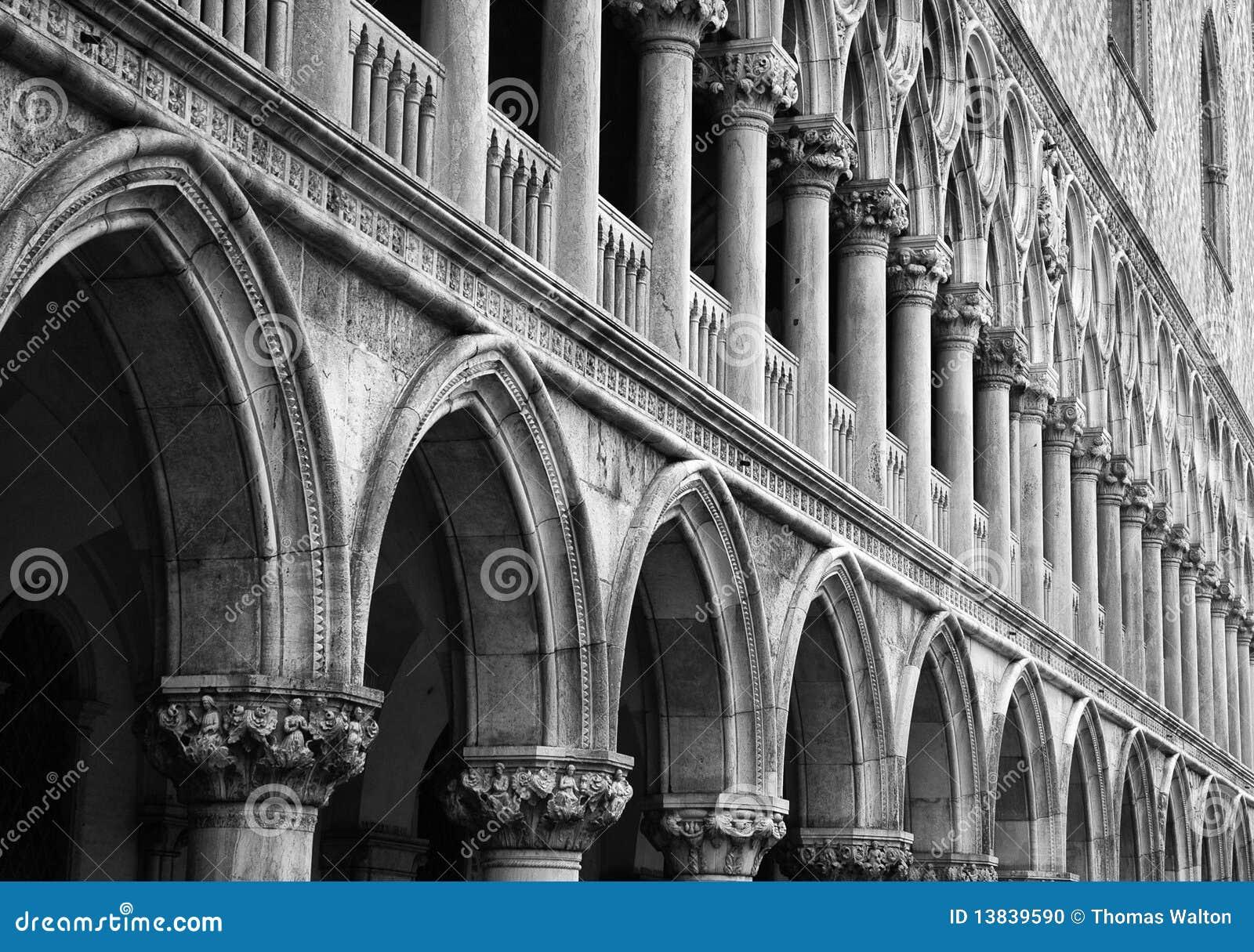 Colunas do palácio do Doge