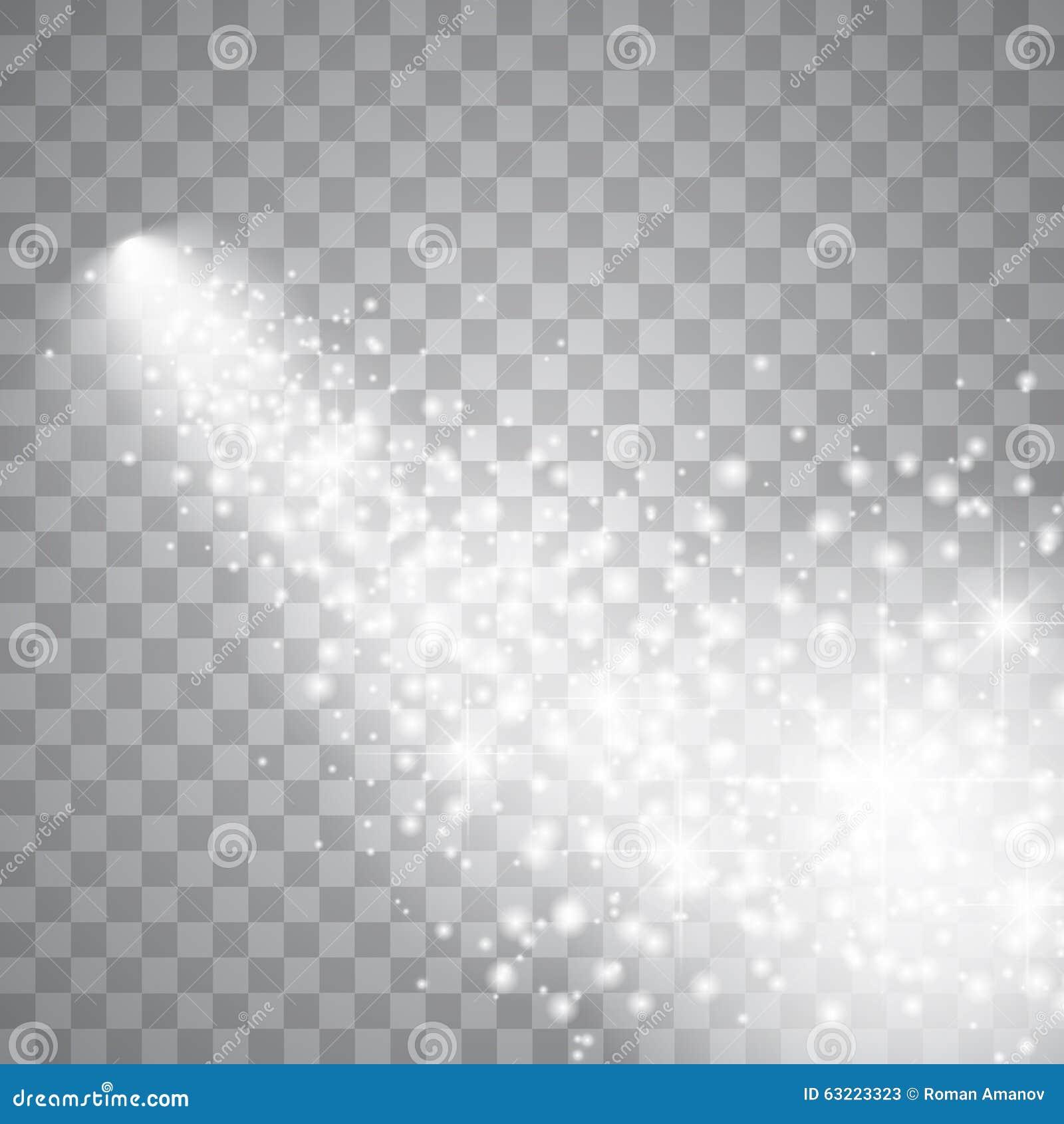 Comète lumineuse avec la grande poussière