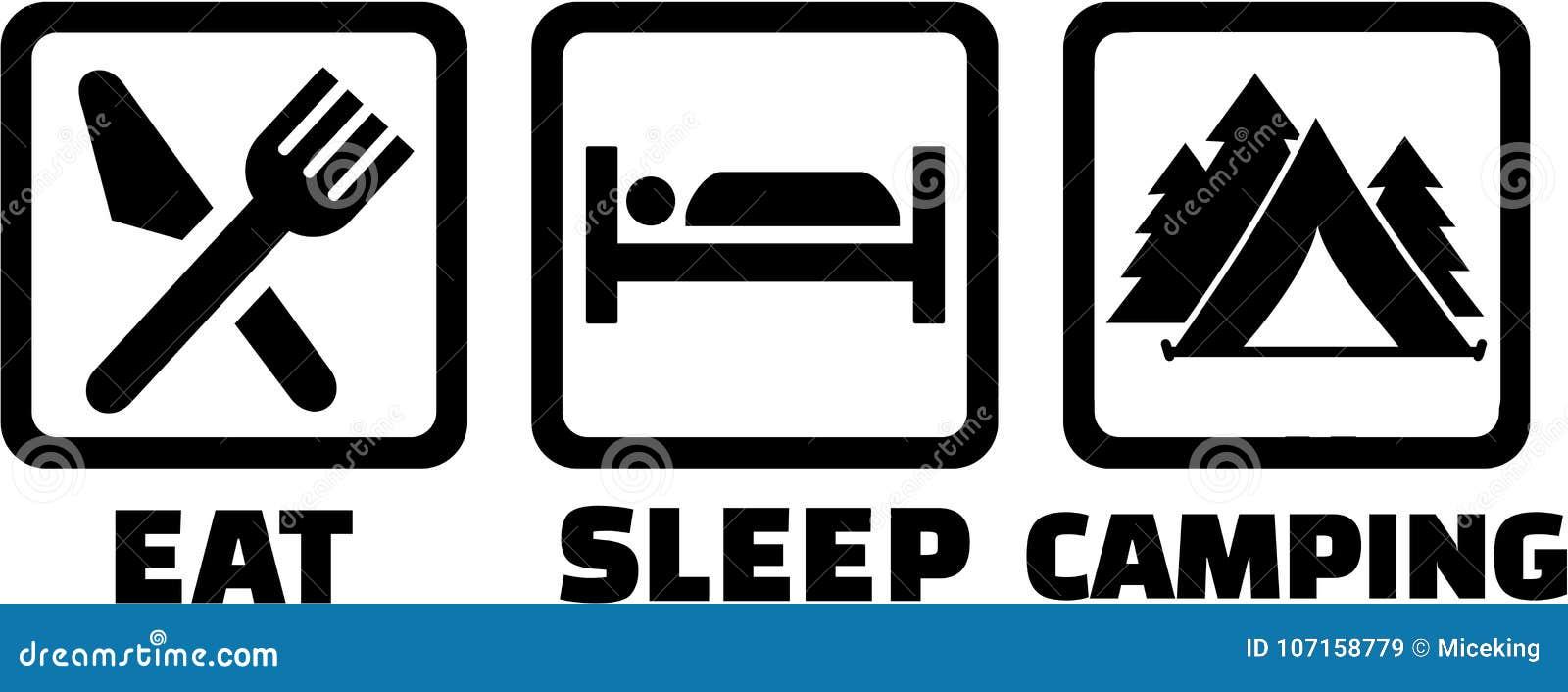 Coma o acampamento do sono