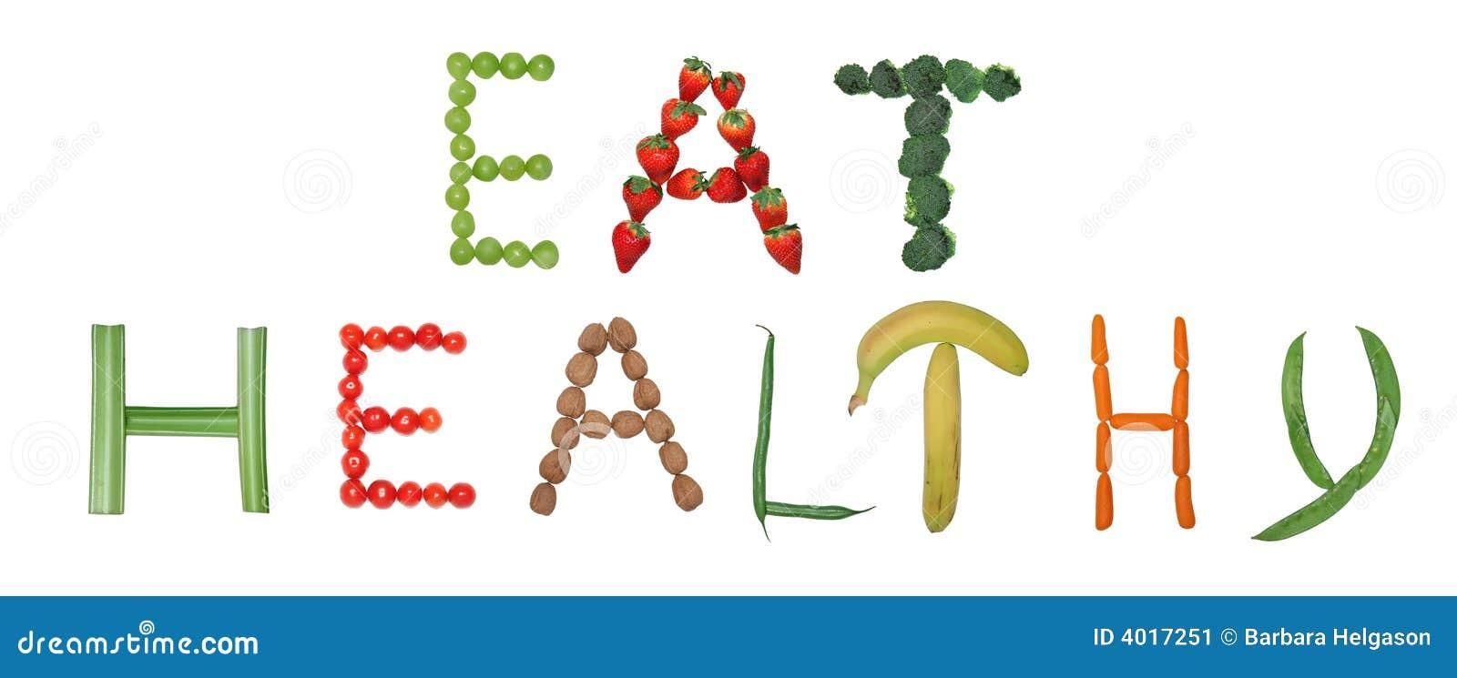 Coma saudável