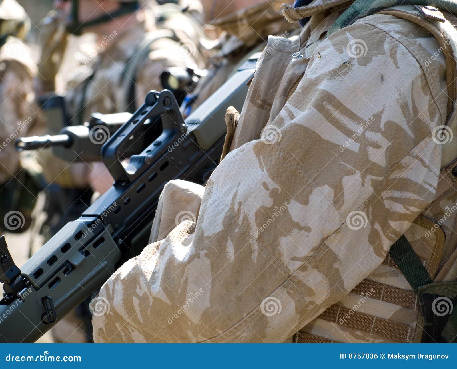 Comando real británico