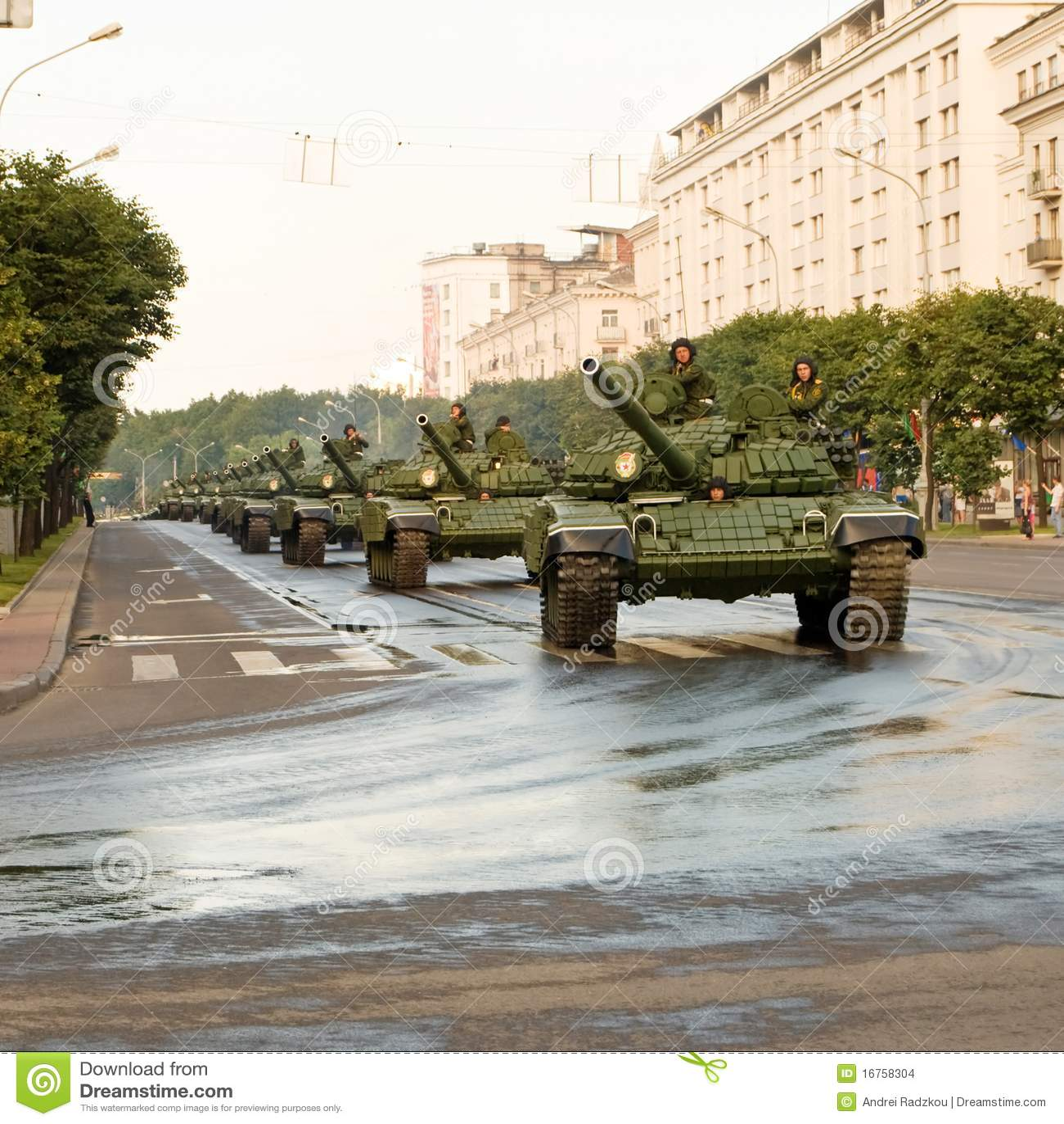 Combóio de tanques
