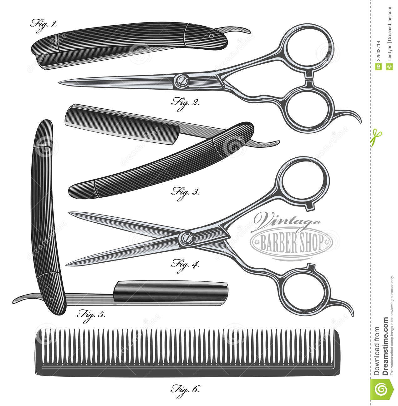 Hair Scissors And Comb Clip Art Short Hairstyle 2013