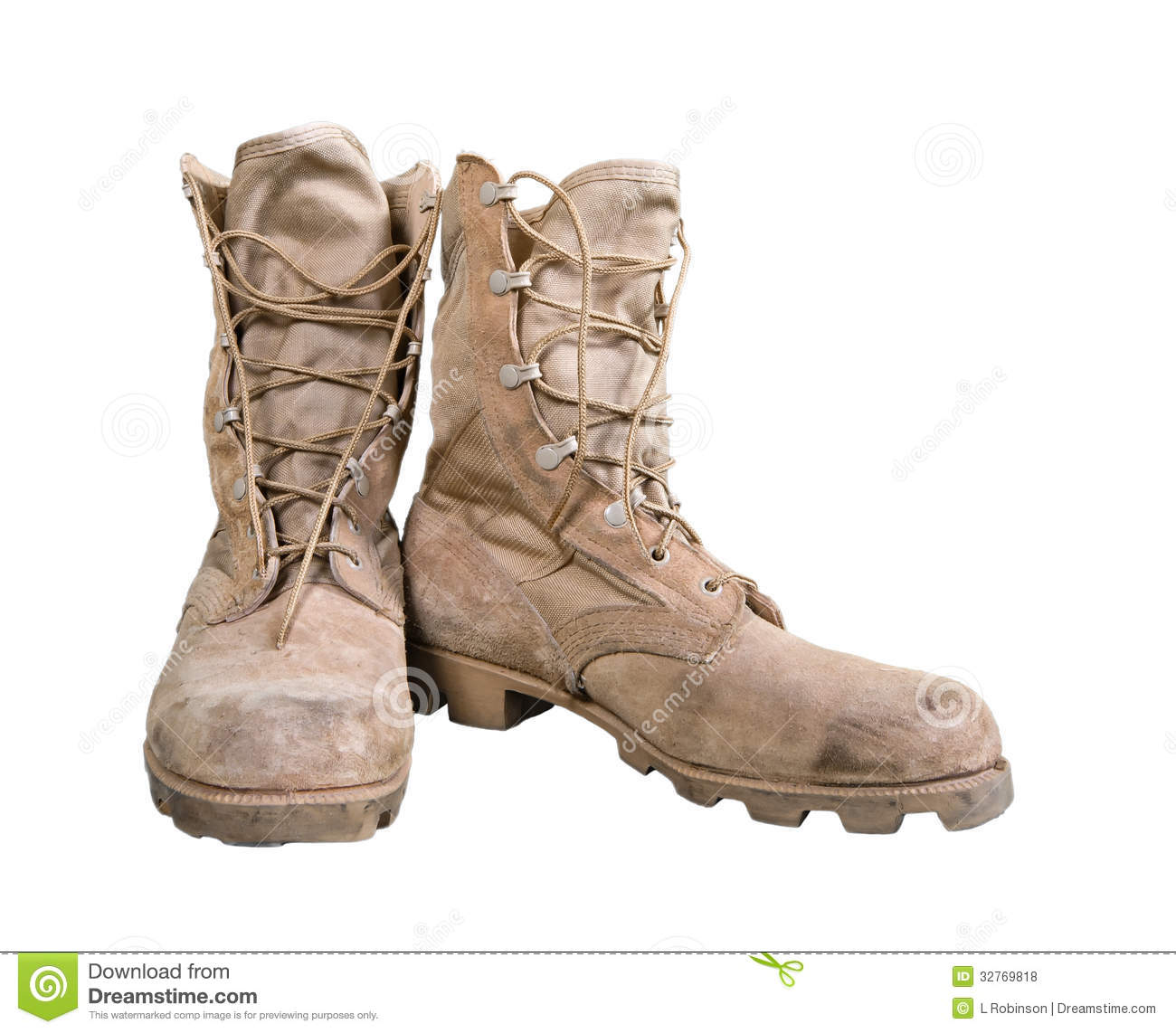Combat Boots Royalty Free Stock Photos - Image: 8913928