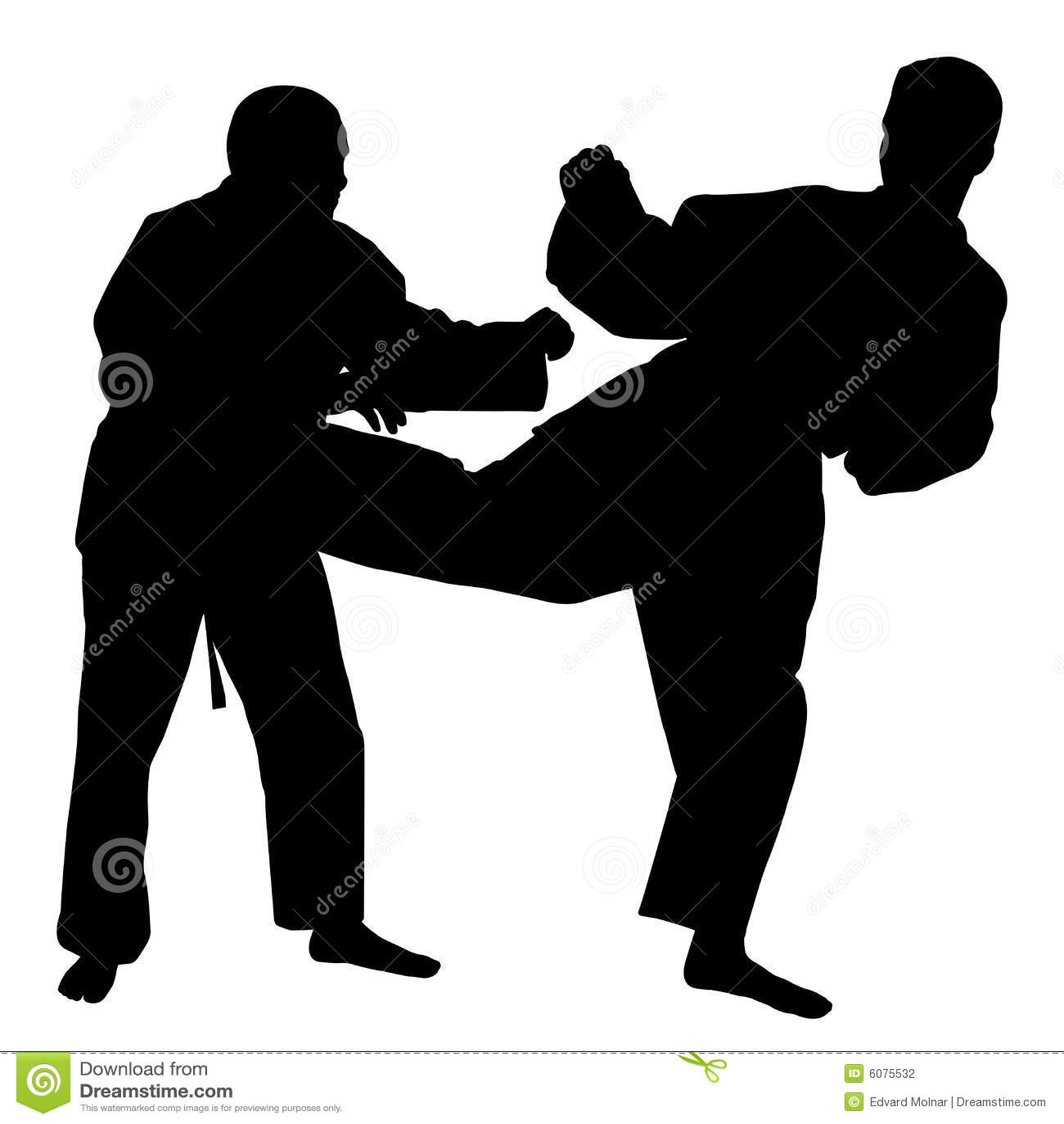 Combat de karaté