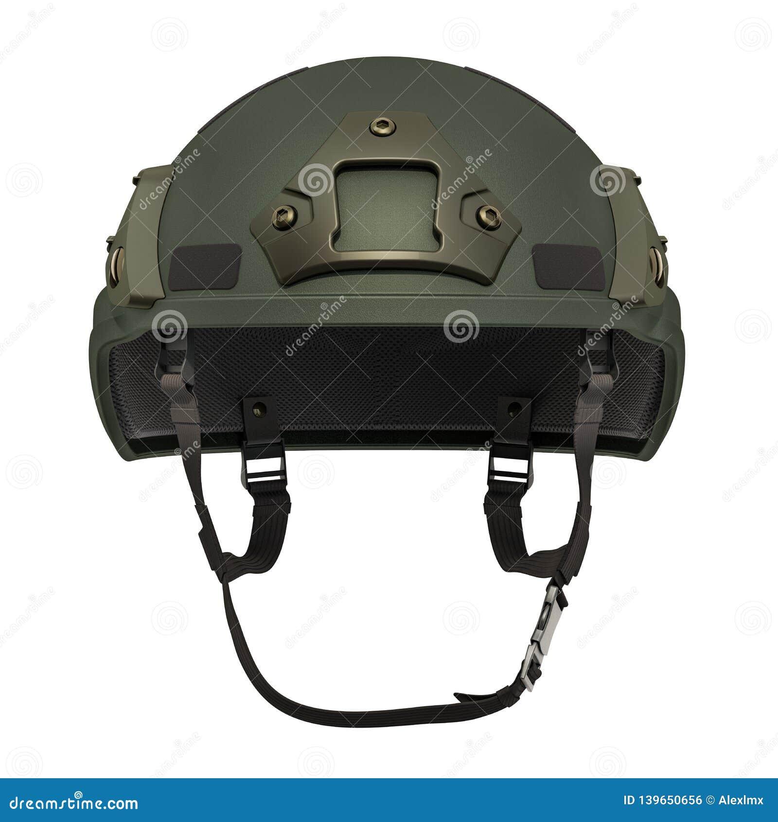 Combat Helmet, 3D Rendering Stock Illustration - Illustration of