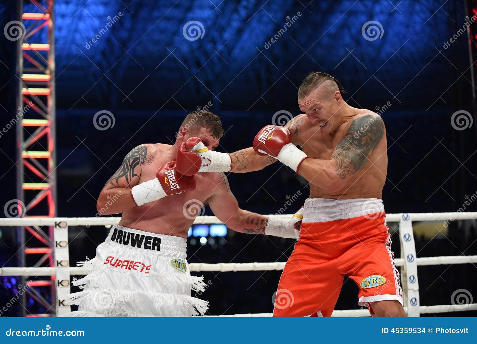 Combat pour la ceinture de champions
