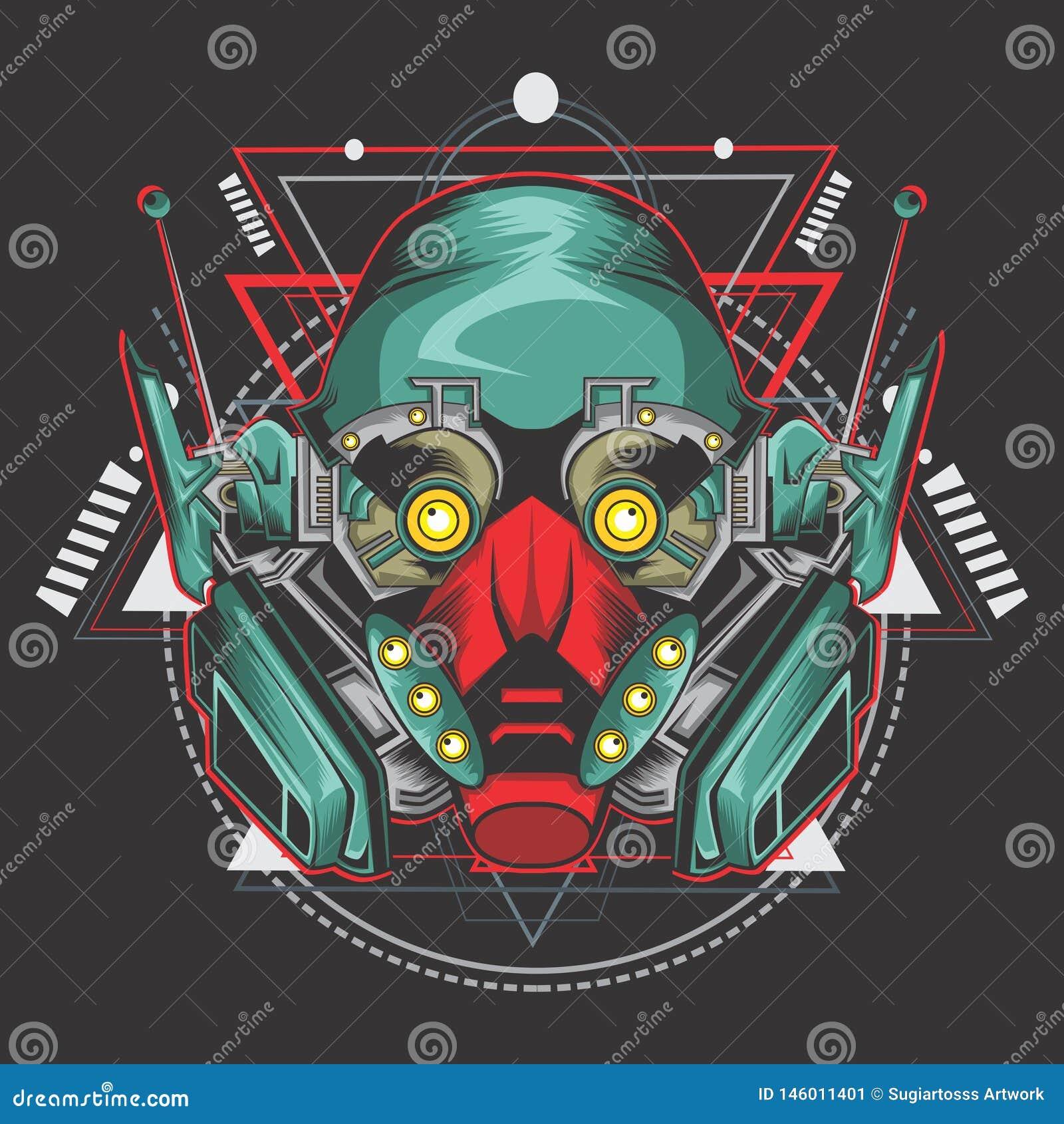 Combatiente del robot del asesino