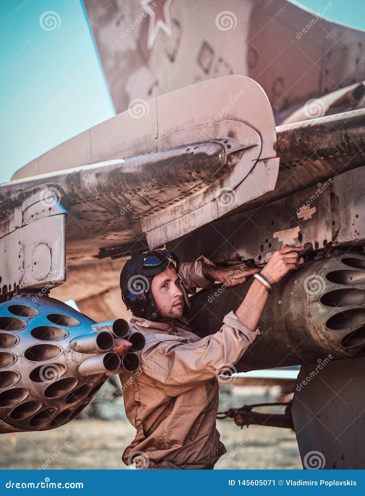 Combattant réactif de cru pilote de réparations