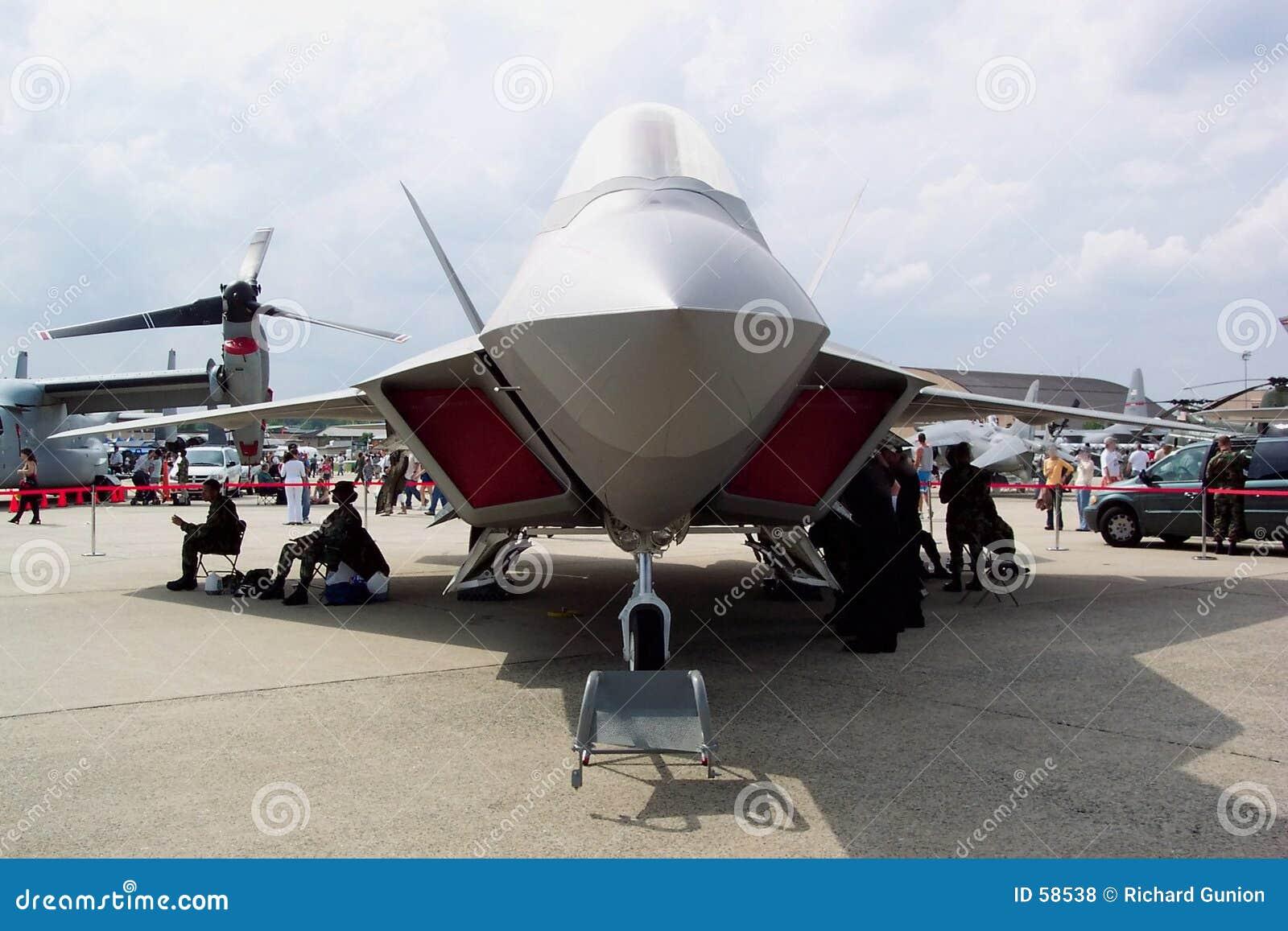 Combattente di azione furtiva del rapace YF-22