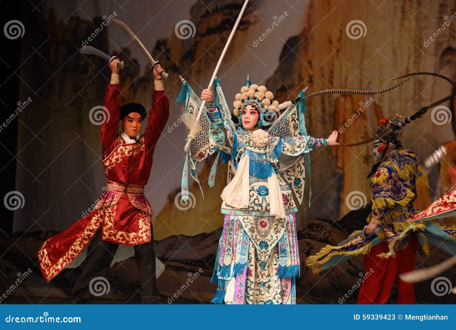 """Combatti contro i generali delle donne di Pechino Opera"""" del  del € di Yang Familyâ"""