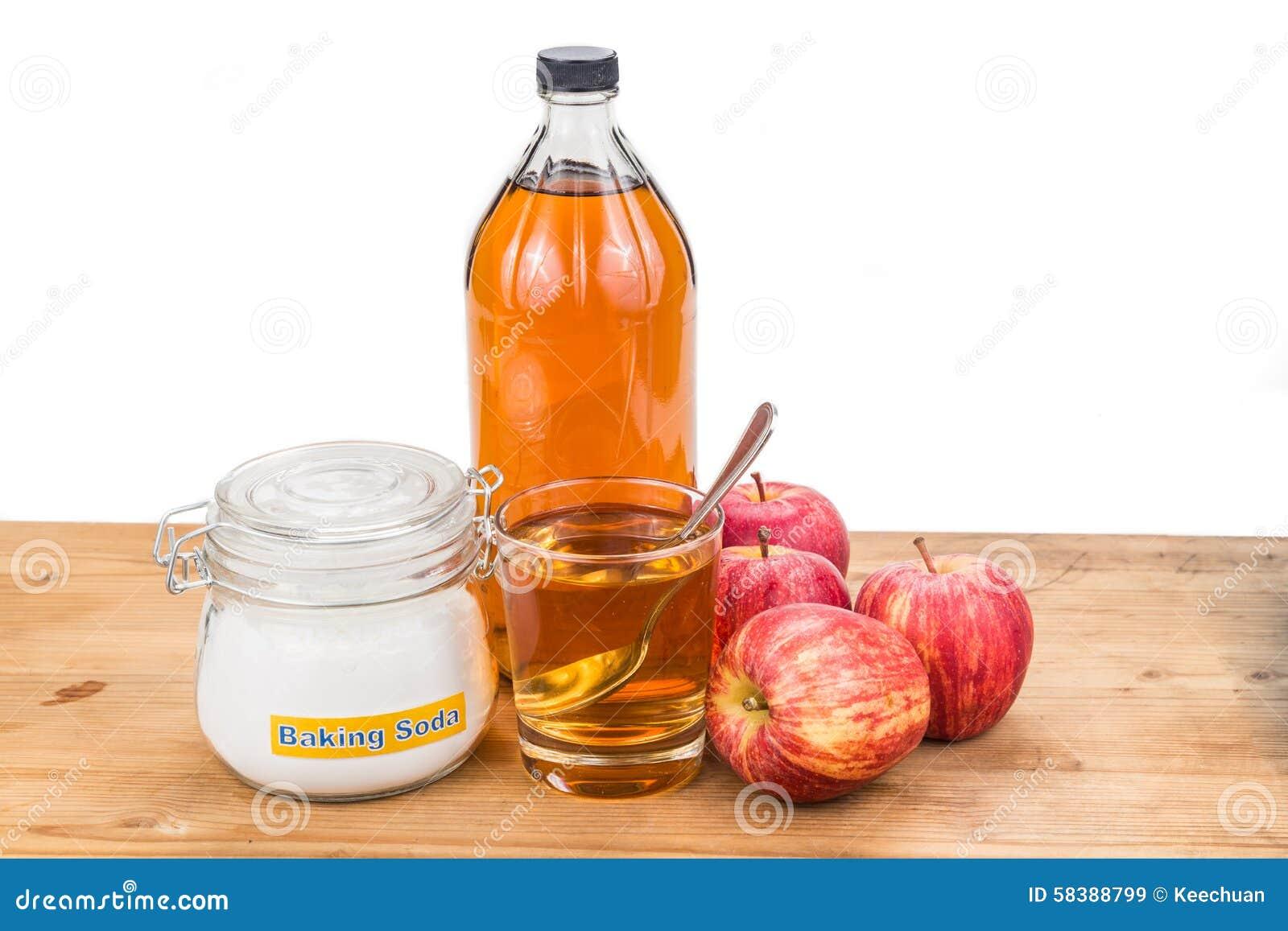 Bicarbonato de sodio y vinagre para la cara
