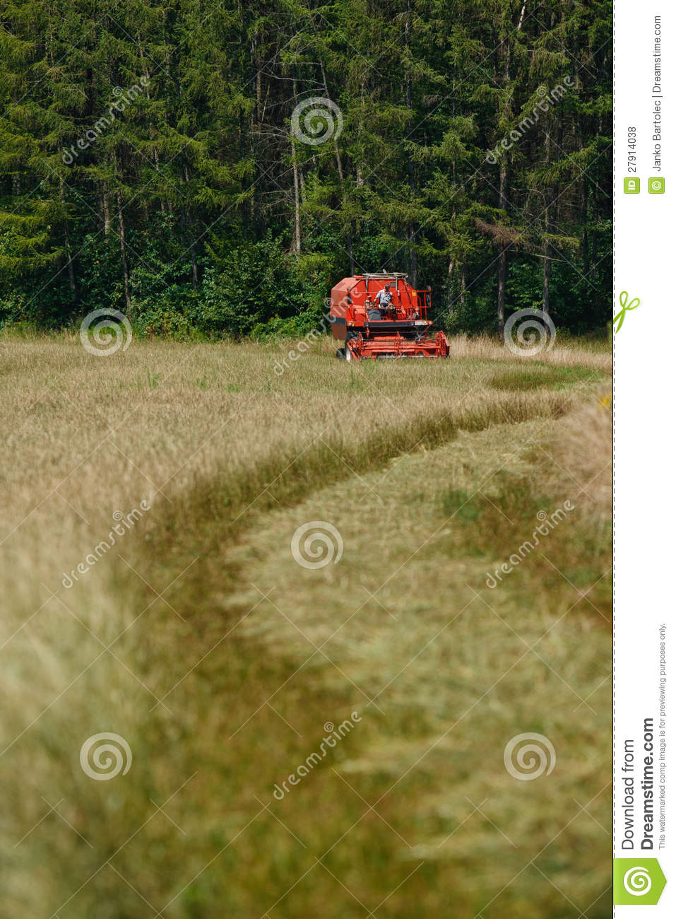 combine harvester front royalty free stock photos