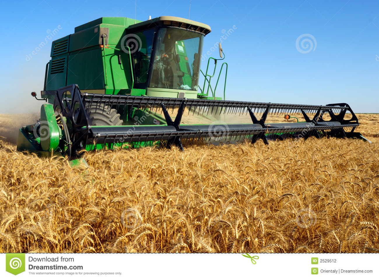 Combine som harveting