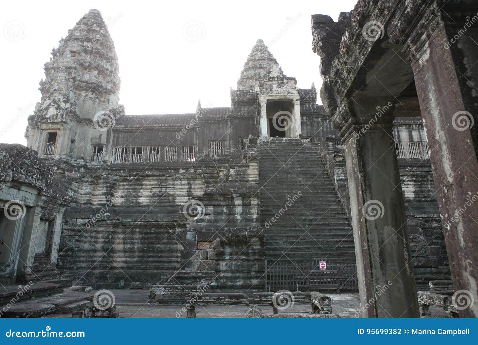 Combodia świątyni dżungle