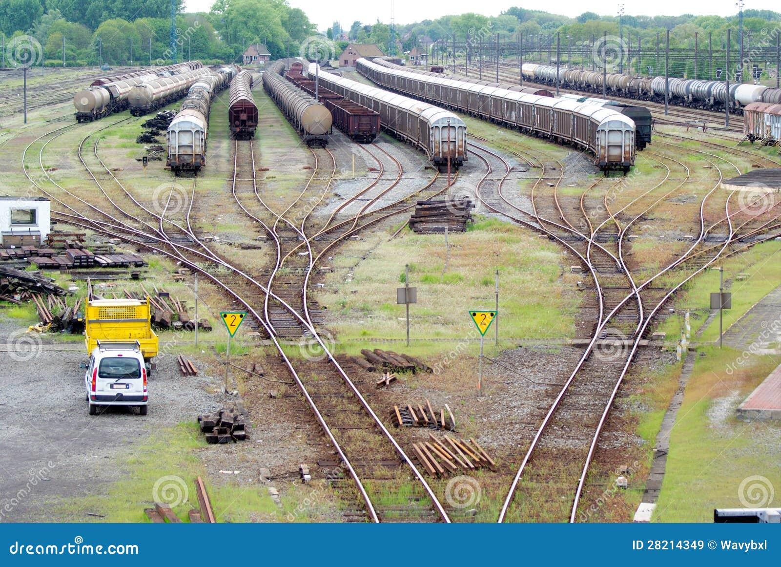 Comboio do cambista e do trem