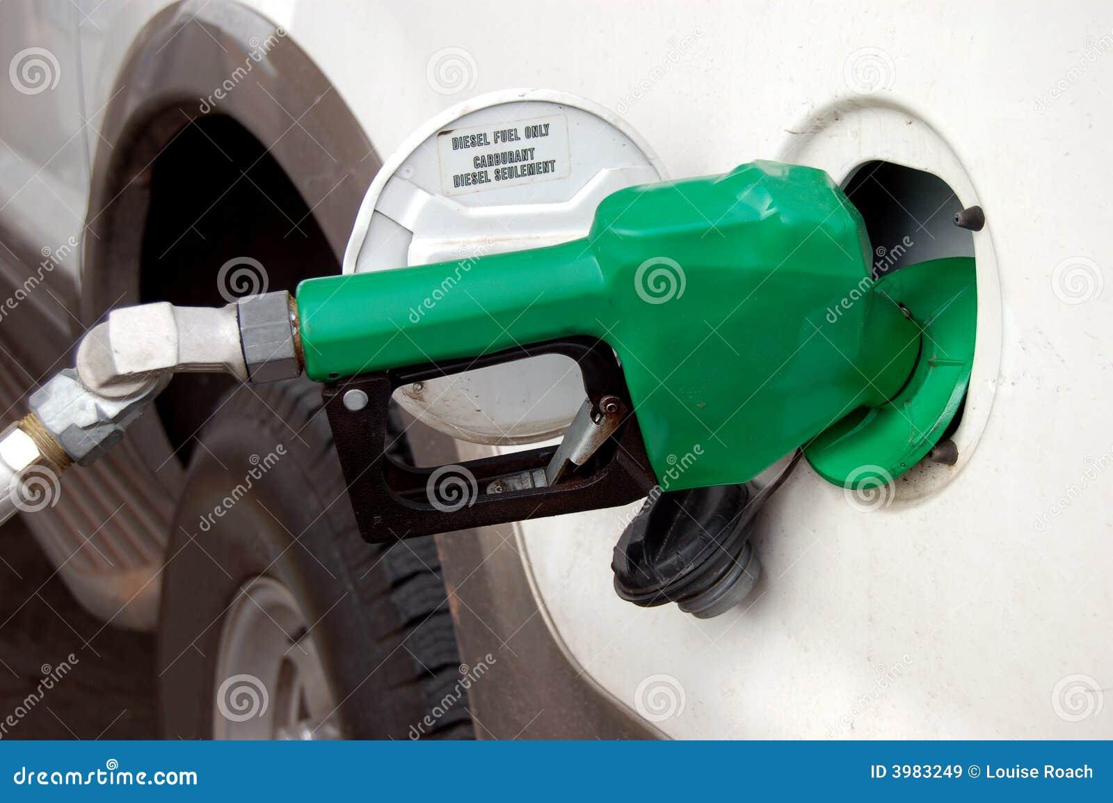 Combustível de diesel somente