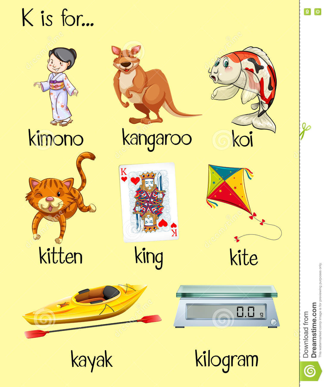 Letter Words That Start With Ku