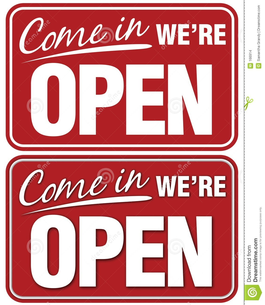 Come In We re Open