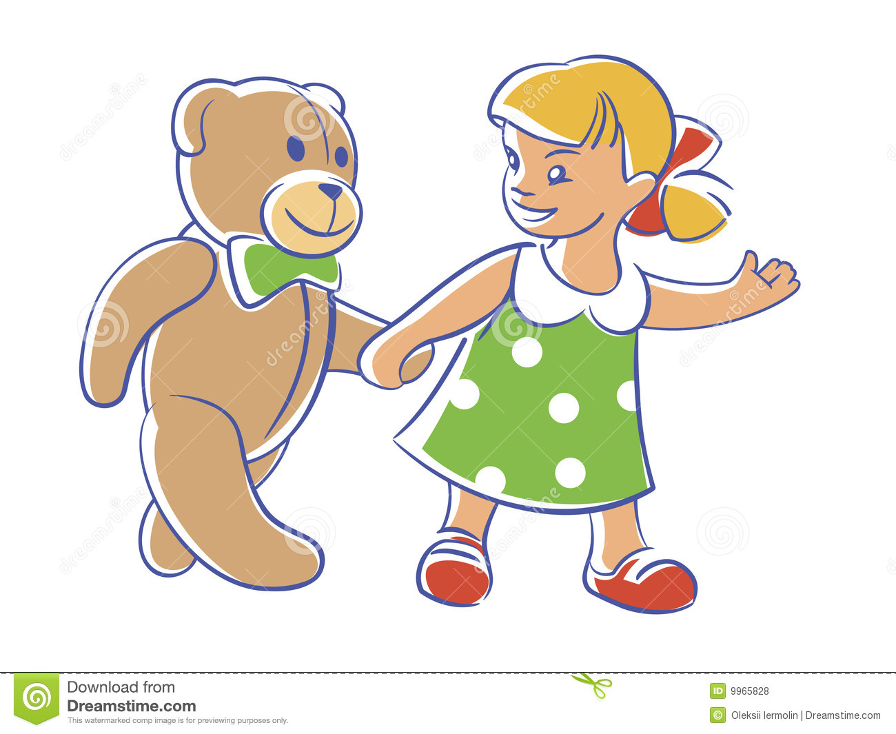 come on  teddy  let s walk royalty free stock photos spring border clip art free images spring border clip art small free