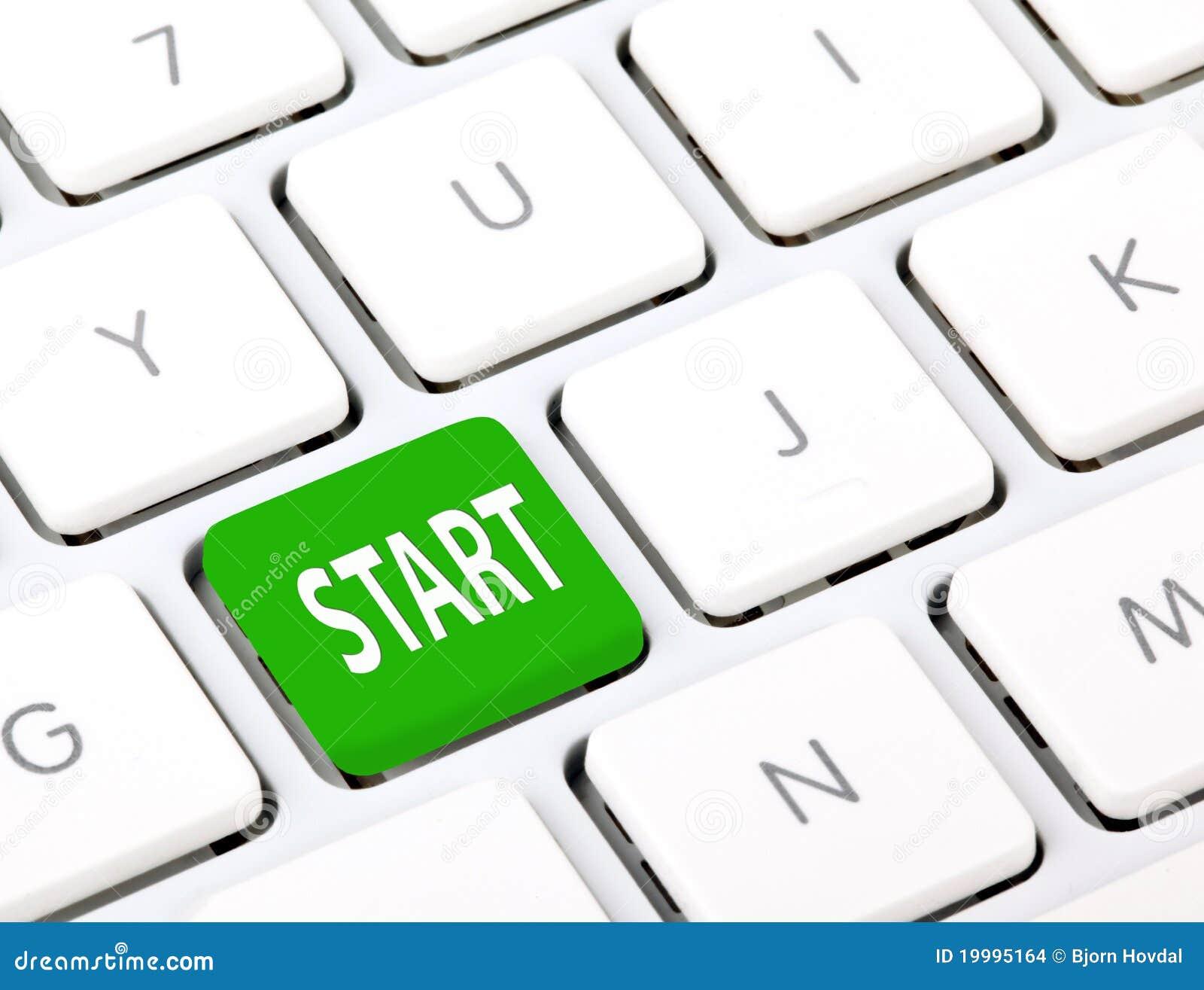 Comece no teclado