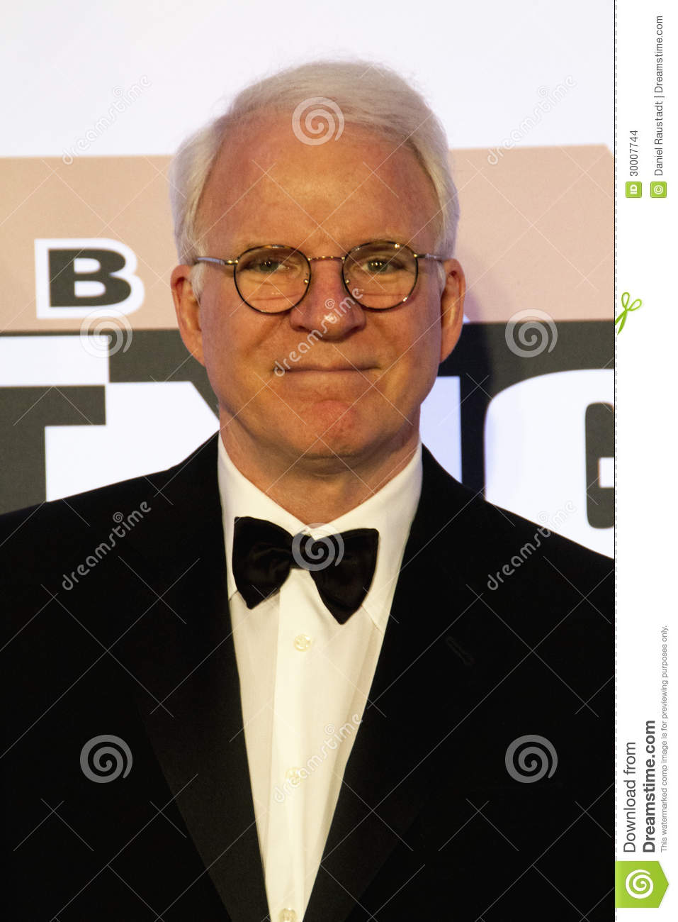 Comediante Steve Martin do ator