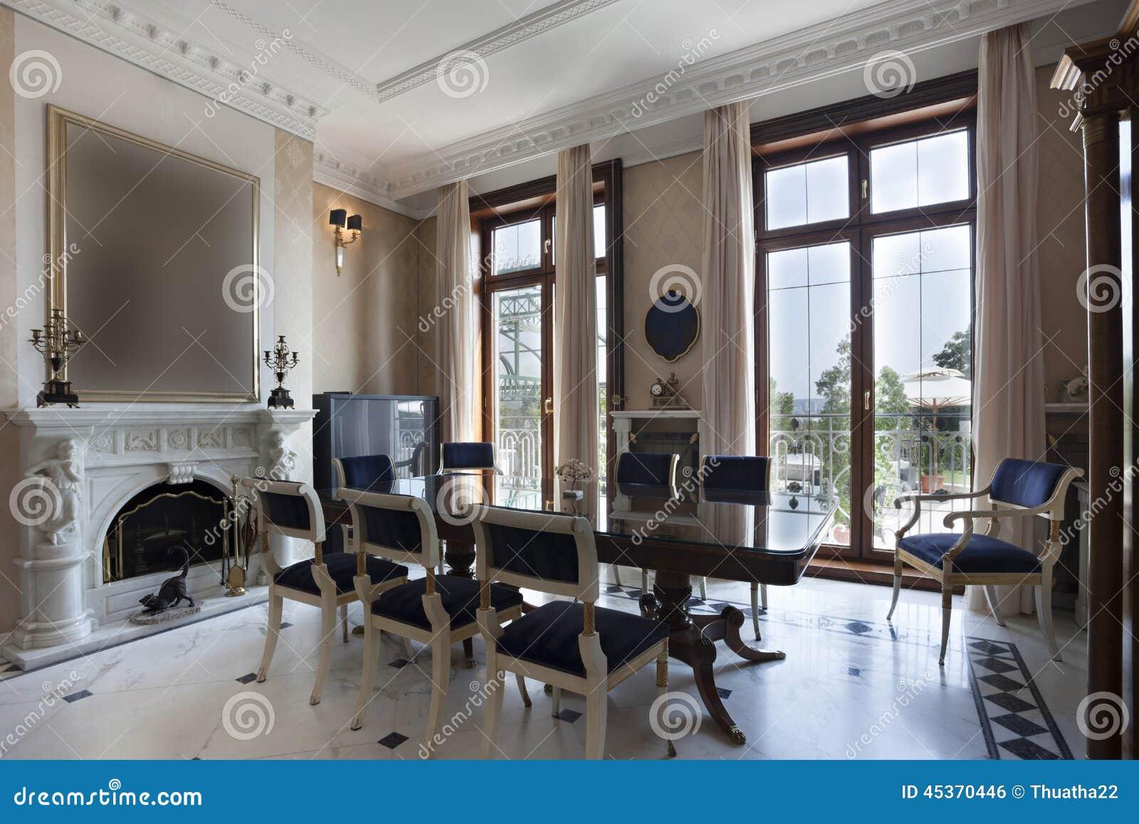 Comedor Moderno Con Chimenea. Simple Fabulous Salones Raosticos Ca ...