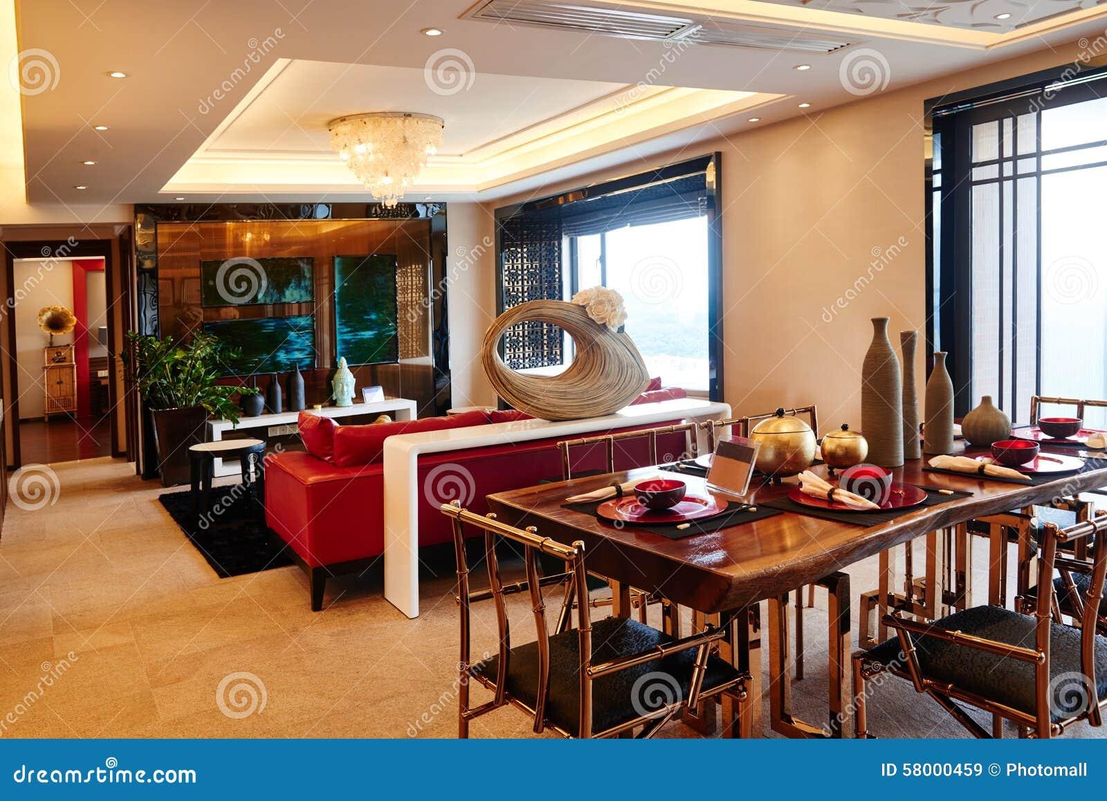 Comedor de lujo moderno de la sala de estar imagen de for O significado de dining room