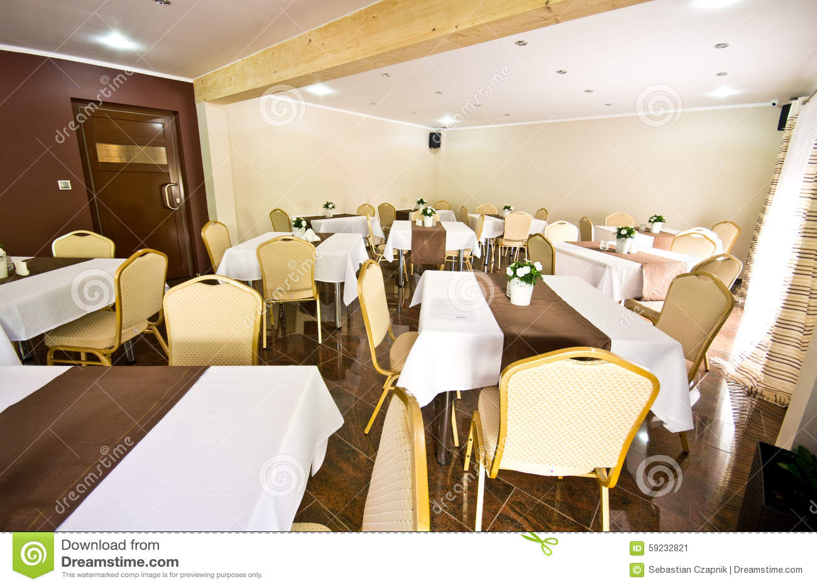 Comedor del hotel