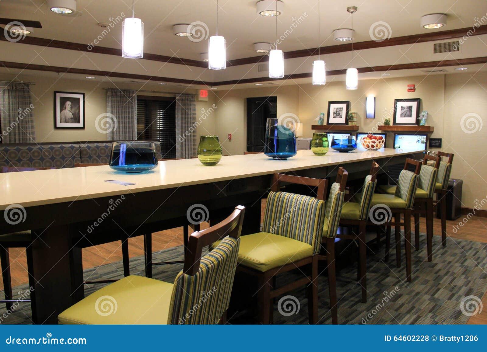 Comedor Hermoso Con Los Muebles Contempor Neos Habitaciones Del  # Muebles Para Food Court