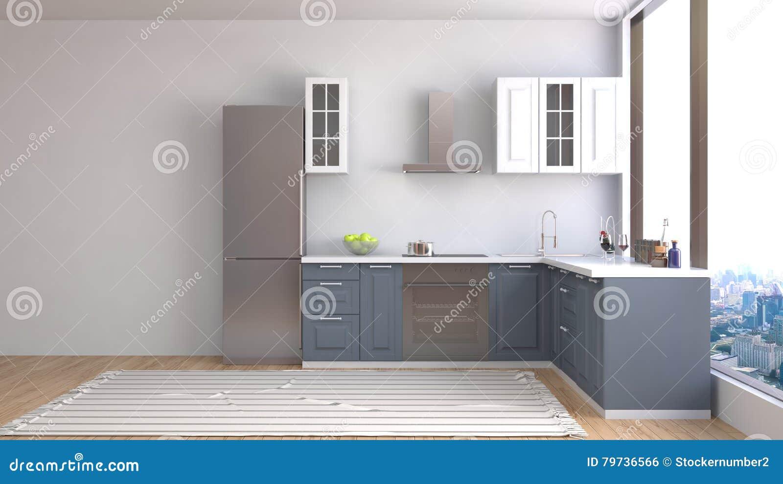 Comedor interior ilustración 3D
