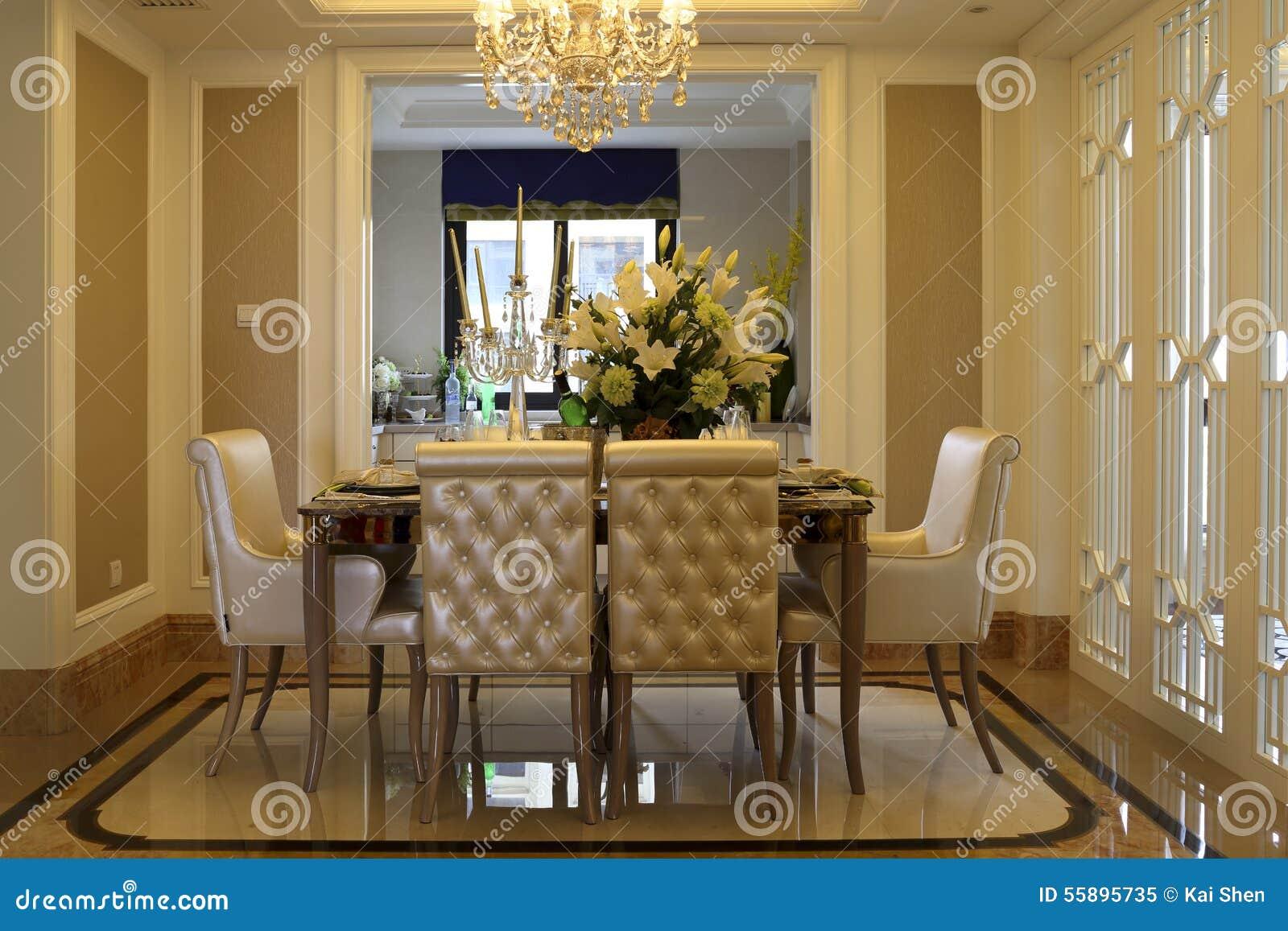Comedor limpio y aseado de la familia de una ventana - El comedor de familia ...