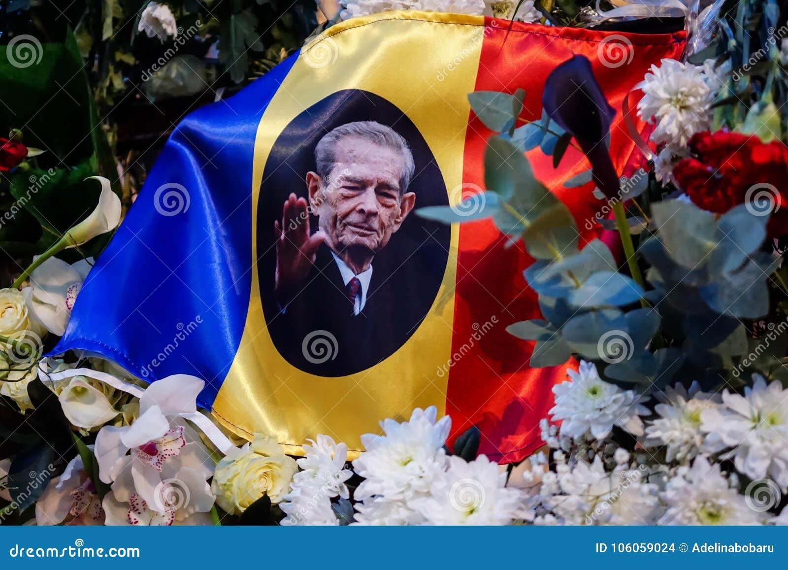 Comemoration de la mort du Roi Mihai de la Roumanie