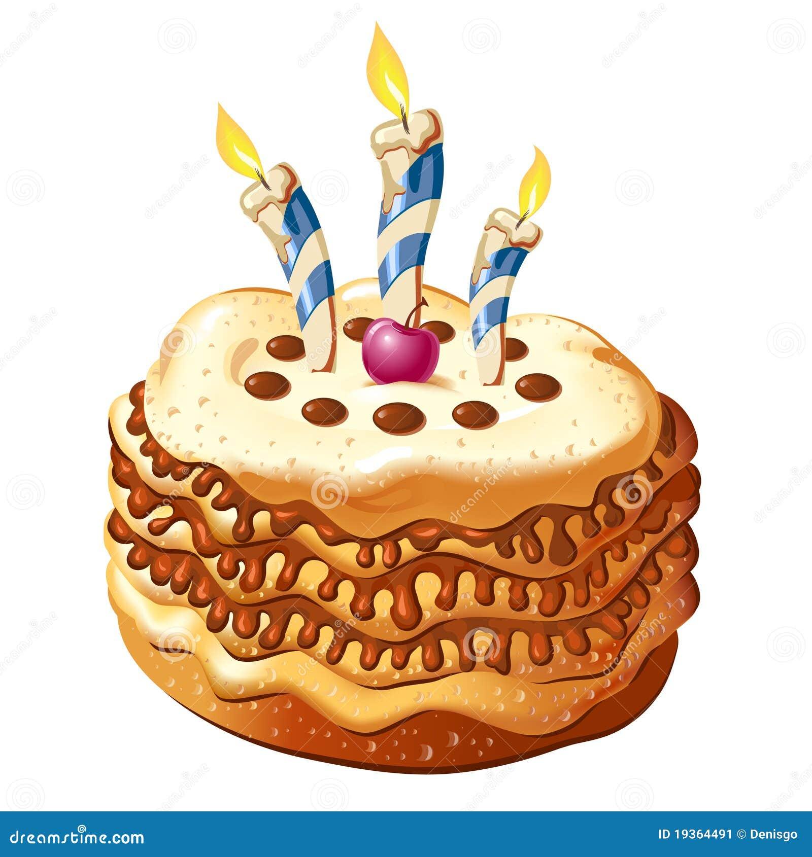 Comemore o bolo de aniversário