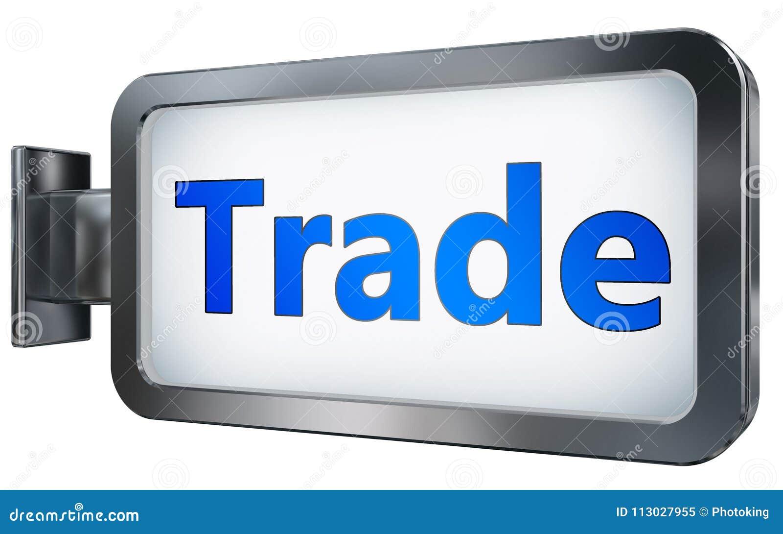 Comercio en fondo de la cartelera