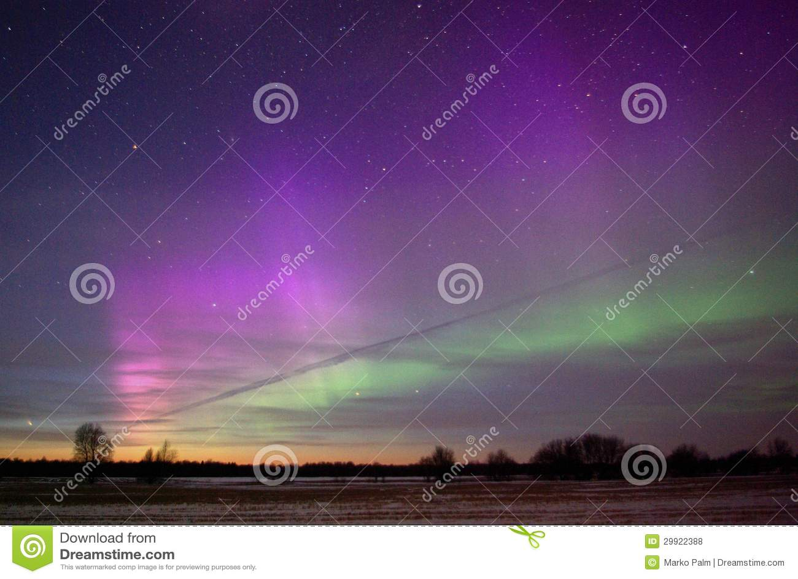 northern lights comet - photo #32