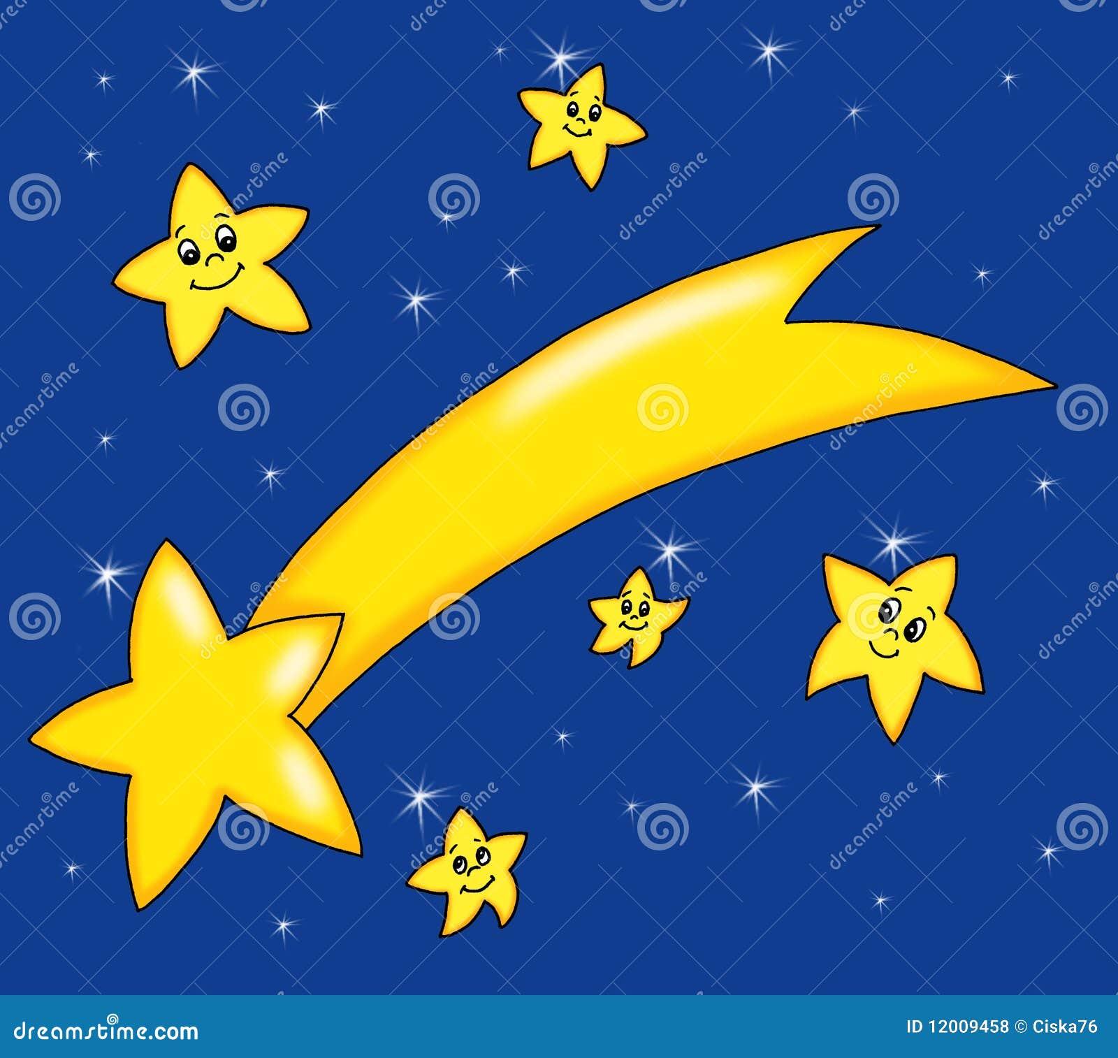 Immagini Di Stelle Comete Natalizie.Cometa Di Natale Illustrazione Di Stock Illustrazione Di