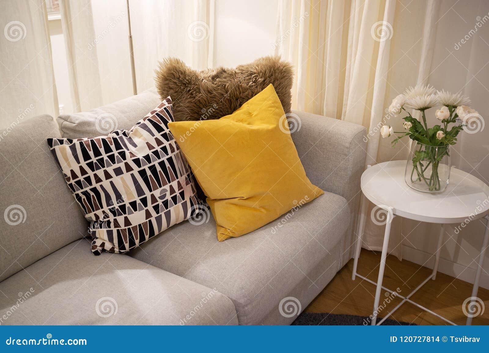 Comfortabel binnenlands huisontwerp