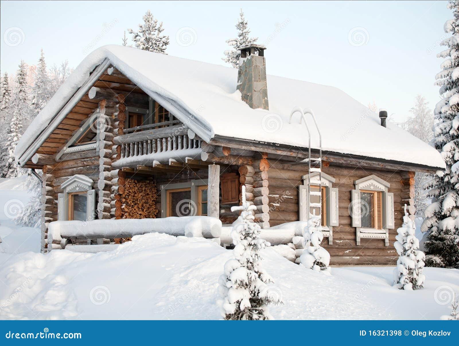 Comfortabel de winterhuis