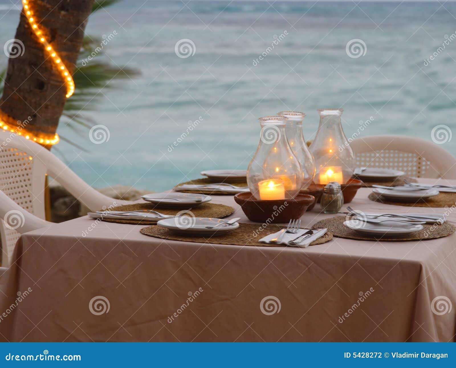 Comfortabel strandrestaurant