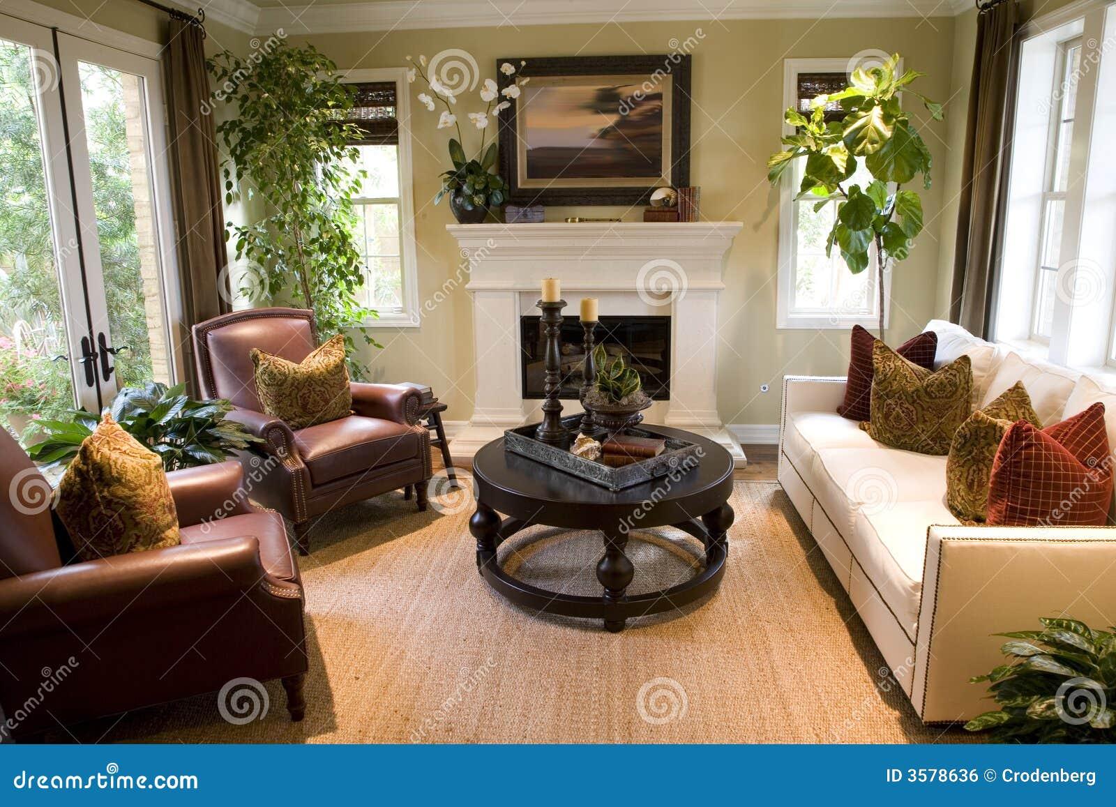 Comfortabele woonkamer.