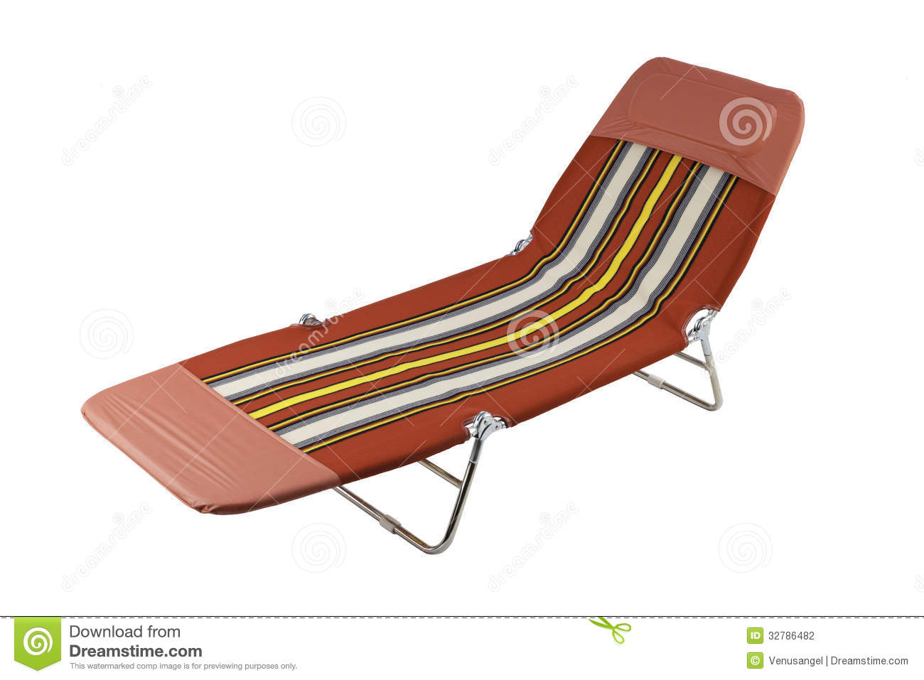 Comfortable Beach Bench Stock Photography Image 32786482