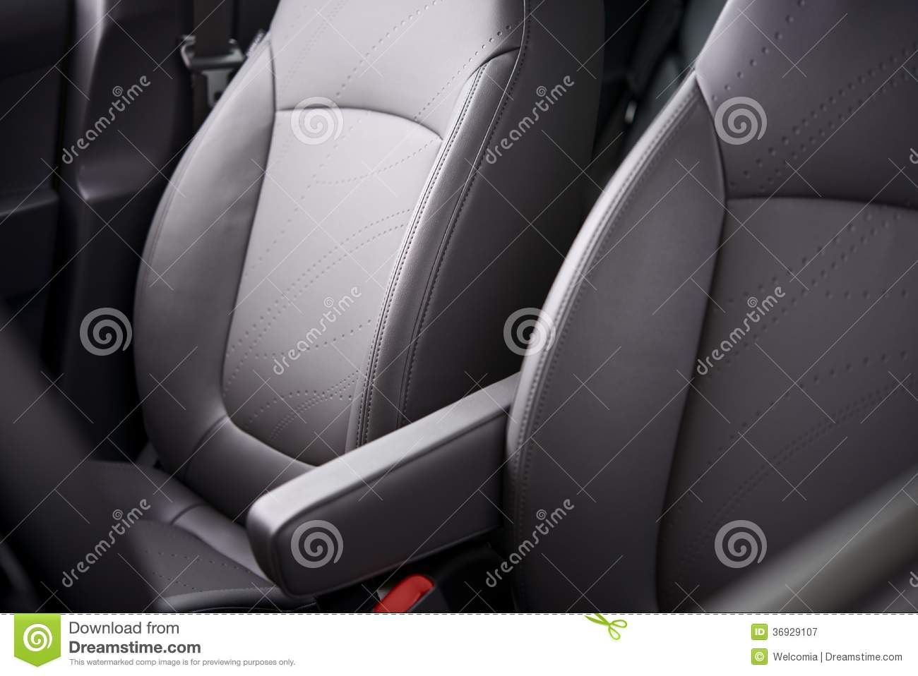 comfortable car seats royalty free stock photography image 36929107. Black Bedroom Furniture Sets. Home Design Ideas