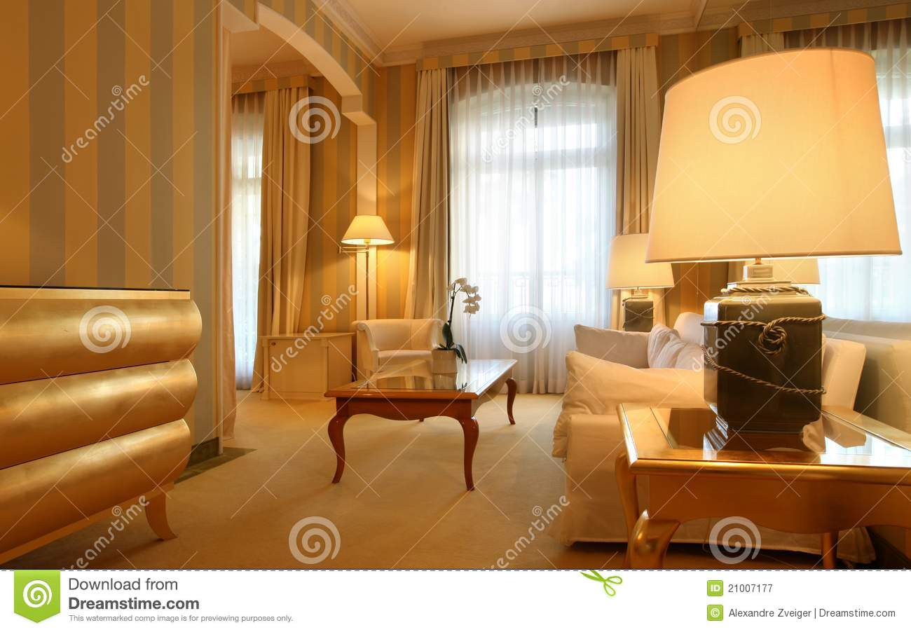 comfortable classic living room royalty free stock